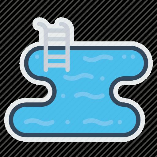 fun, hotel, pool, restaurant, summer, swim, swimming icon