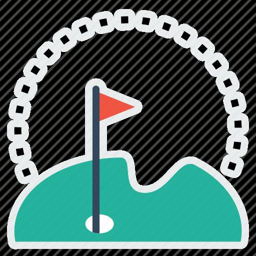 court, fun, game, golf, hotel, restaurant, sport icon