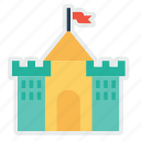 building, castle, hotel, kingdom, luxury, restaurant, royalty icon
