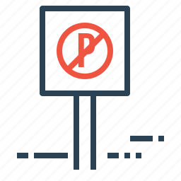 car, hotel, information, no, parking, sign, transport icon