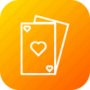 card, casino, game, hotel, play, poker, restaurant icon