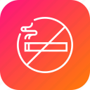 ban, cigarette, forbidden, no, sign, smoking, tobacco icon