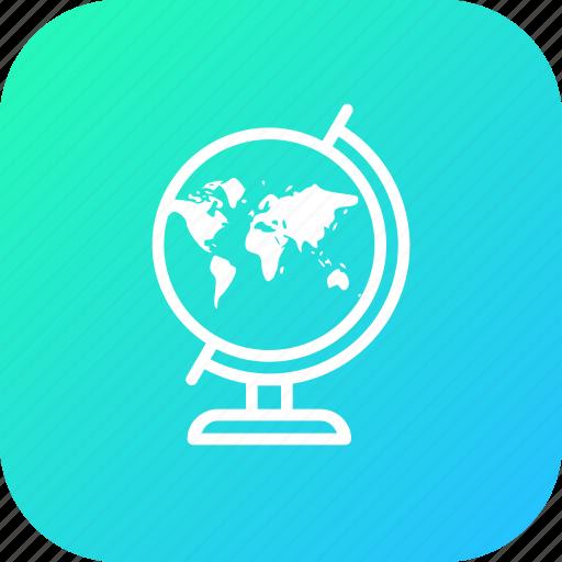 destination, earth, location, map, marker, pin, world icon