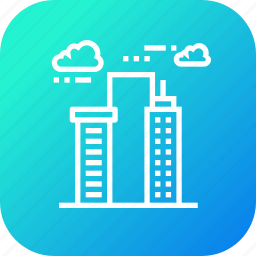 building, high, hotel, lodge, luxury, place, sky icon