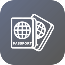 document, identity, luggage, passport, tourism, travel, visa