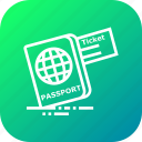 document, identity, passport, ticket, tourism, travel, visa