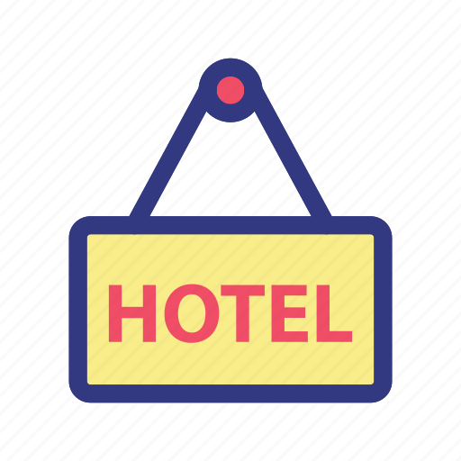 hotel, information, island, trave, travelling, tropical icon