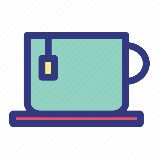 hotel, island, tea, trave, travelling, tropical icon