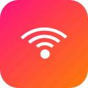 hotel, internet, restaurant, signal, wifi, wireless icon