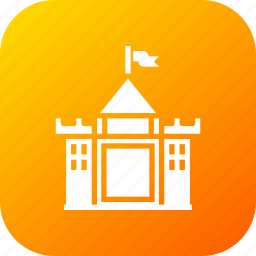 building, castle, hotel, kingdom, luxury, restaurant, royalty icon