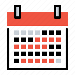 calendar, date, event, holiday, month, schedule, year icon