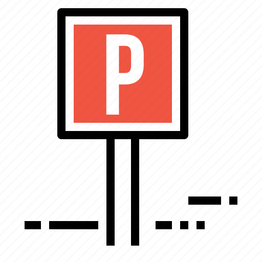 car, hotel, information, parking, road, sign, transport icon