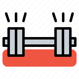 dumbels, dumble, equipment, gym, hotel, restaurant, room icon