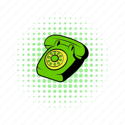 blower, call, comics, communication, phone, smart, telephone icon
