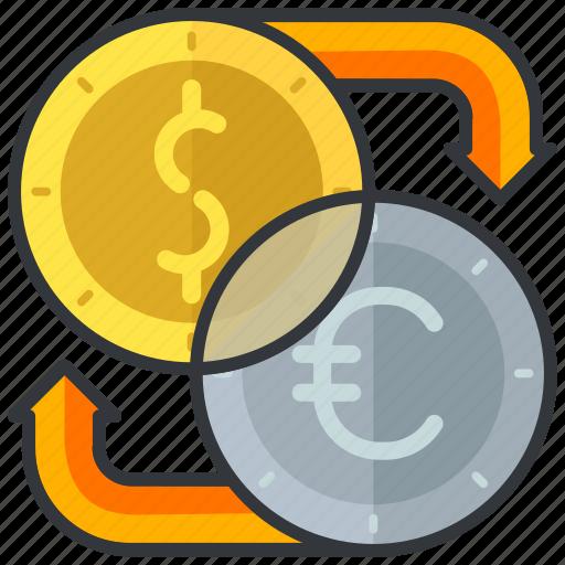 currency, essentials, exchange, finance, hotel icon