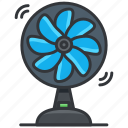 essentials, fan, hotel, ventilator icon