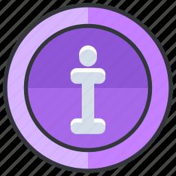 essentials, hotel, i, info, information icon