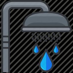 bathroom, essentials, hotel, hygiene, shower icon