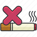 forbidden, prohibited, smoke, smoking icon