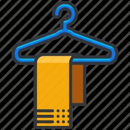 essentials, hotel, service, towel icon