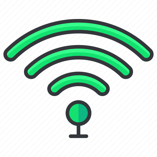 connection, essentials, hotel, internet, wifi, wireless icon