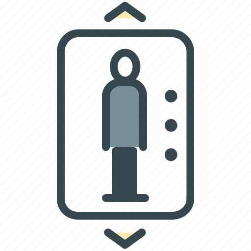 elevator, facilities, hotel, lift, transport icon