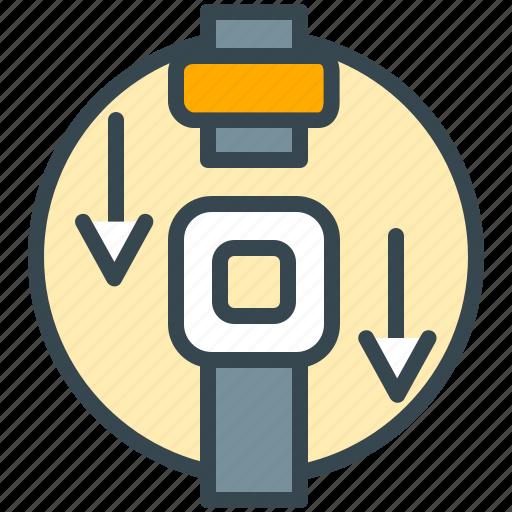 belt, safe, safety, security, traffic, transport icon
