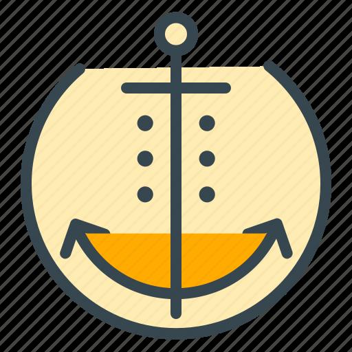 anchor, boat, hotel, marine, sailor, ship, yacht icon