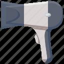 hair dryer, salon icon