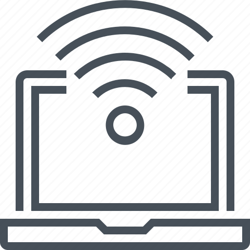 computer, connection, free internet, internet, wireless icon