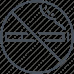 cigarette, no, no smoking, sign, smoke, smoking icon