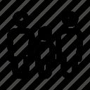 avatar, family, hotel, human, line, people, team