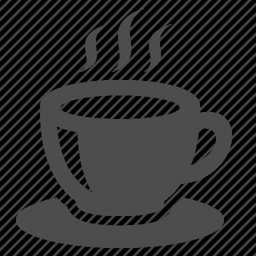 Coffee, cup, hot, mug, restaurant, saucer, tea icon | Icon ...