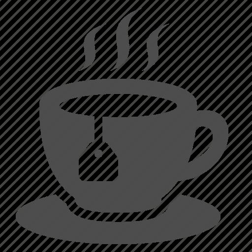 bag, coffee, cup, cup of tea, hot, tea, teabag icon