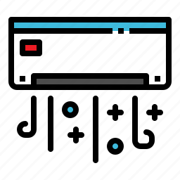 air, amenitie, appliance, conditioner, facility icon