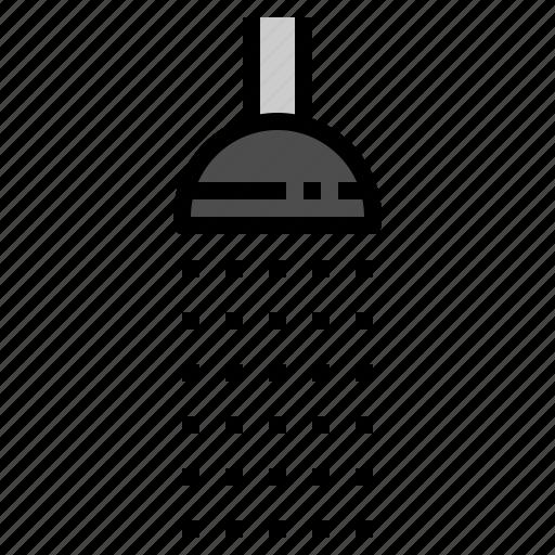 bathroom, facility, rain, shower, toilet icon