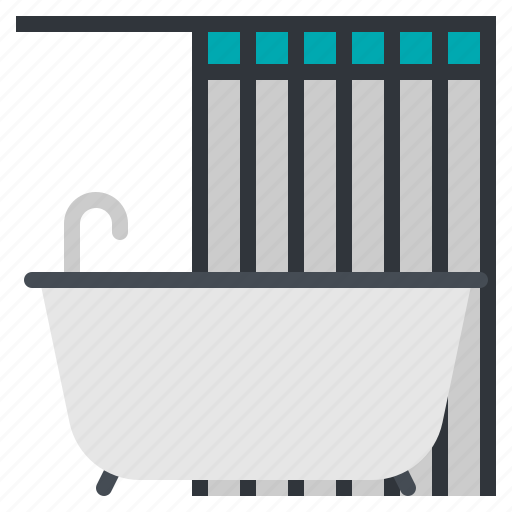 Bathroom, bathtub, facility, shower, toilet icon - Download on Iconfinder