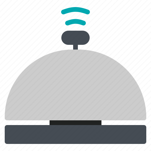 Bell, front, hotel, reception, sound icon - Download on Iconfinder