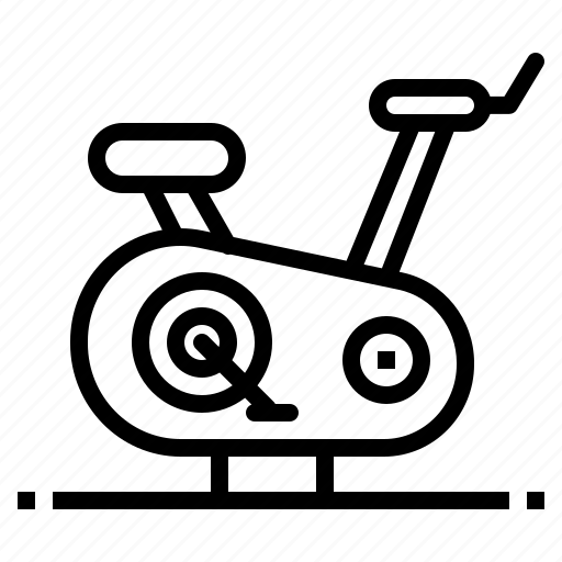 bicycle, bike, exercise, fitness, sport icon