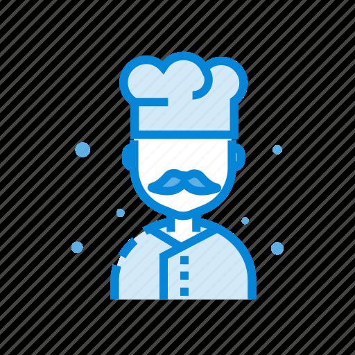 chef, cooking, hat, restaurant icon