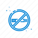 cigarette, no, prohibited, rooms, smoking icon