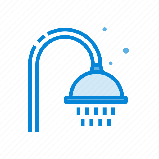 bath, pipe, shower, water icon