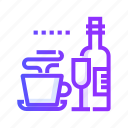 bar, beverage, bottle, cup, drink icon