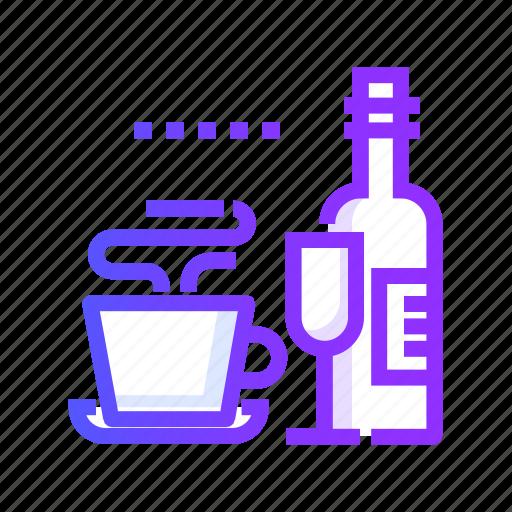 bar, beverage, bottle, cup, drink icon