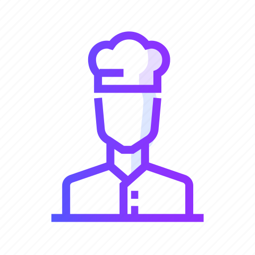 chef, cooking, food, gastronomy, restaurant icon