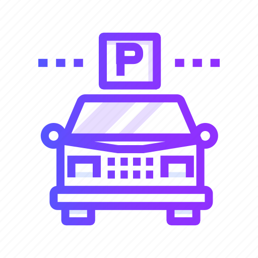 garage, guest, parking, transportation, vehicle icon