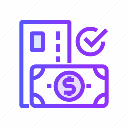 cash, currency, method, money, payment icon