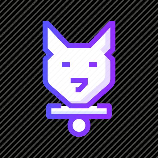 animal, cat, dog, friendly, pet icon