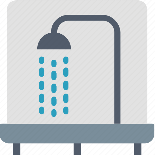 bathroom, bathtub, facilities, hotel, shower, washing, water icon