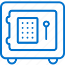 box, deposit, hotel, protection, safety, security, service icon